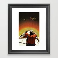 The Sun Is Up Framed Art Print