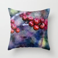A Colorful Life Throw Pillow