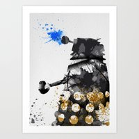 Doctor Who Dalek Art Print