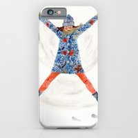 iPhone & iPod Case featuring snowangel by Hanne De Brabander