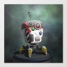 Bot Canvas Print