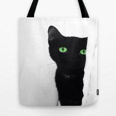 Curious Soul (Green) Tote Bag