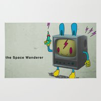 The Space Wanderer Rug