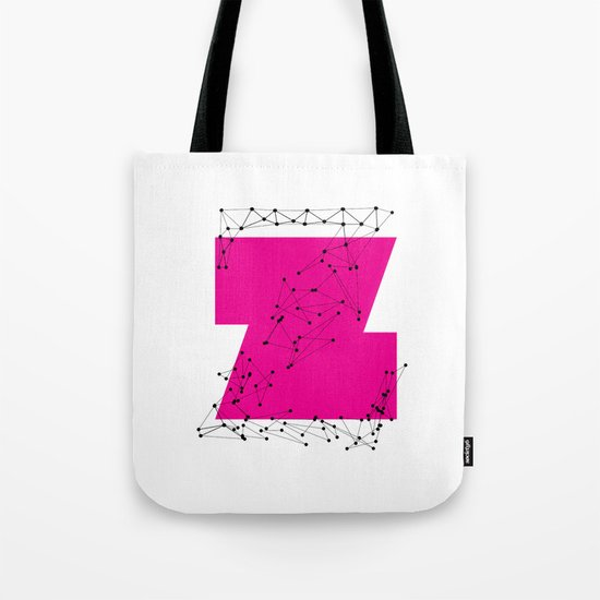 Z (abstract geometrical type) Tote Bag