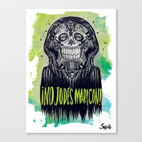 No Jodes Maricon Canvas Print