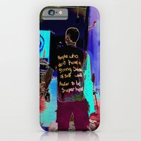 iPhone & iPod Case featuring hero's by Saoirse Cullen