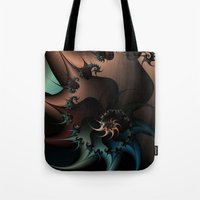 Thorned Rebellion Tote Bag