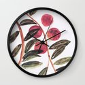 Peaches Wall Clock