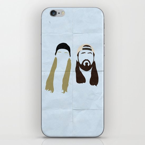 Jay and Silent Bob Strike Back iPhone & iPod Skin