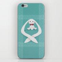 Long-eared Bunny iPhone & iPod Skin