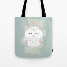 Friendly Owl Tote Bag