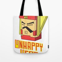 Unhappy Hero Tote Bag