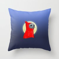 Hooded Seal Throw Pillow