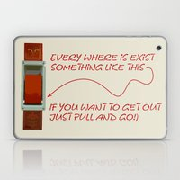 Just Pull And Go! Laptop & iPad Skin