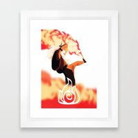 Avatar Roku II Framed Art Print