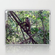 Monkey Sanctuary – Monkey with attitude Laptop & iPad Skin