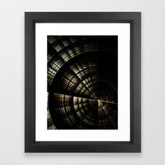 Into the Void Framed Art Print