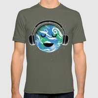 The Whole Planet Loves M… Mens Fitted Tee Lieutenant SMALL