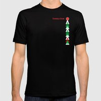 Twinkle Tree Mens Fitted Tee Black SMALL