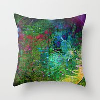 Circle Of Pure Joy Throw Pillow