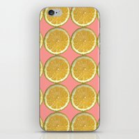 Lemons Citrus Fruit Color Photo Art iPhone & iPod Skin