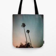 Sunset Palms Tote Bag
