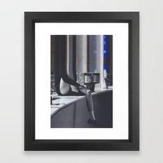 Bazaar #40 Framed Art Print
