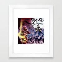 Halloween 2014 Framed Art Print