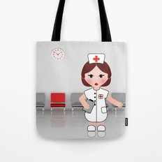 Jobs serie: the nurse Tote Bag