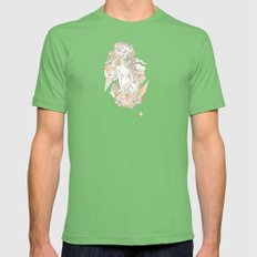 imagine direction Mens Fitted Tee Grass SMALL