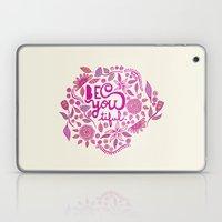 Be You-Tiful (pink edition) Laptop & iPad Skin