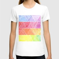 rainbow T-shirts featuring Rainbow by Elisa Rosa