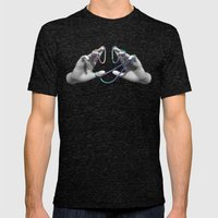 Handy Man Mens Fitted Tee Tri-Black SMALL