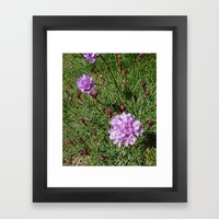 pretty flowers Framed Art Print
