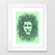 LIONATURE Framed Art Print