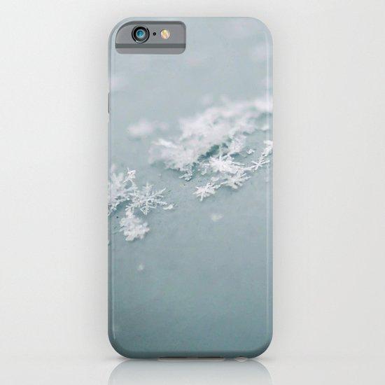 Snow flakes iPhone & iPod Case