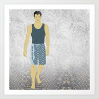 Boardshorts 10 Art Print