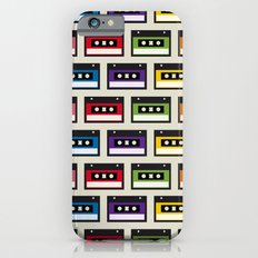 Mix tapes iPhone 6s Slim Case