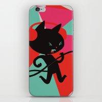 Air Cat iPhone & iPod Skin