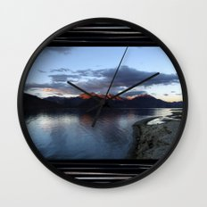 ...at the end of the day! Wall Clock