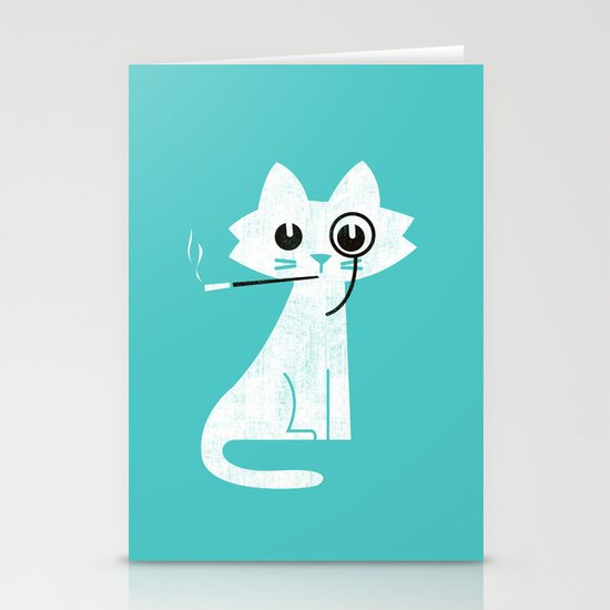 Mark - Aristo-Cat Stationery Card