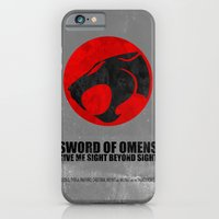 iPhone & iPod Case featuring Thundercats (Super Minimalist series) by Itomi Bhaa