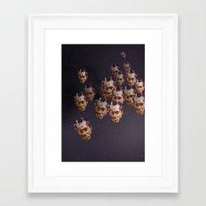 A head of the pack Framed Art Print