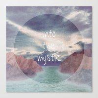 Into the Mystic (ANALOG zine) Canvas Print