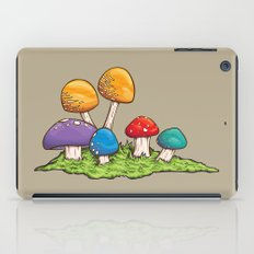 Mushrooms (Colors) iPad Case