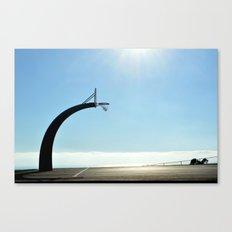 Basketball Plateau  Canvas Print