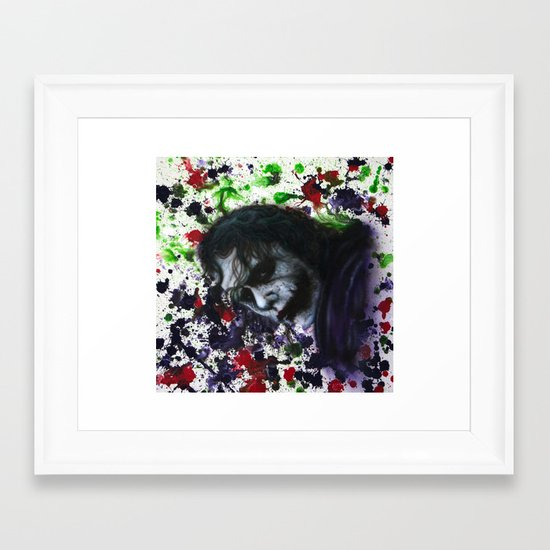 Colour Chaos Framed Art Print