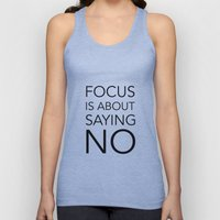 Focus Is About.... Unisex Tank Top