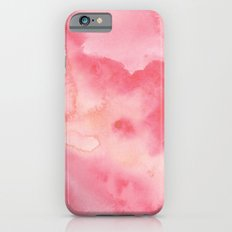Watercolor Pink Slim Case iPhone 6s