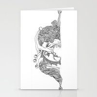 Comedy And Tragedy Stationery Cards